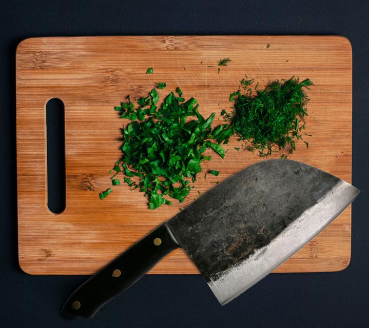 serbian chef's knife