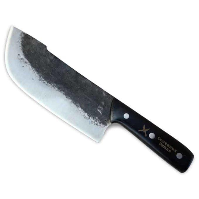 Couteau Shefu forgé par Couteaux Damas
