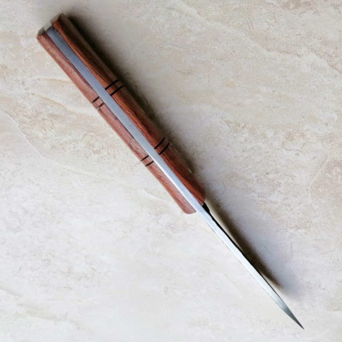 couteau à éplucher damas haut
